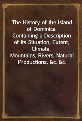 The History of the Island of D...
