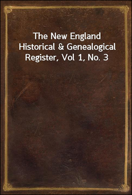 The New England Historical & G...